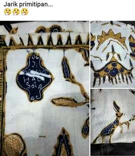 Jarik batik tulis tua lawas antik unik vintage DANAR HADI SOLO 71