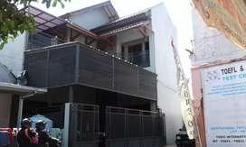 Jual rumah bertingkat konst kuda2 beton