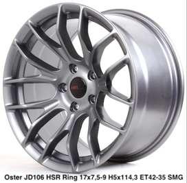 Velg  model OSTER JD106 HSR R17X75/9 H5X114,3 ET42/35 SMG