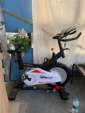 RPM fitness spin bike for Home cardio excercise