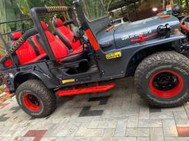 I995 modified jeep with costlly 4/4 exchange also accepted