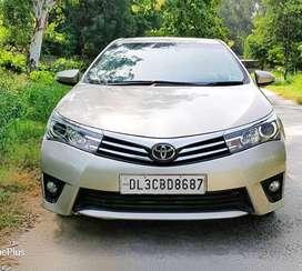 Toyota Corolla Altis GL, 2015, Petrol