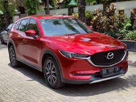 Mazda CX5 ELITE 2018 AsliBali Red Soul LowKm 30rb tt vrz pajero wuling