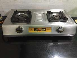 Two burner Gas oven