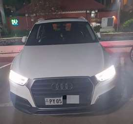 Audi Q3 2018 for rent and wedding  events