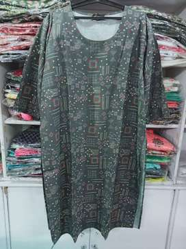 Branded big size kurti available