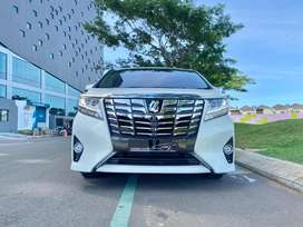 Toyota Alphard G 2.5 AT 2016