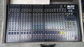 Alto audio mixer 24 channels