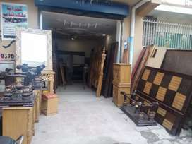 Auction furniture shop for sale  settalite town holy family hospital