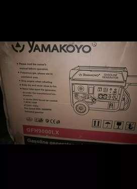 Genset yamakoyo GFH 9000 LX. Masih dalam kardus