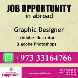 looking graphic designer