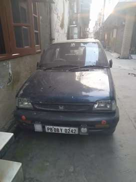 For Sale Maruti 800 Blue Colour