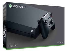 XBOX ONE X 1 TB sealed box at lowest price only @Rs:-29,990/-