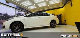 Toyota grande mint condition with glass coating full body & golden nbr
