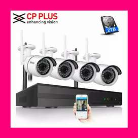 Bumper Sale Branded Cctv Cameras Setup Full Hd+