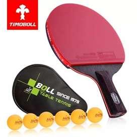 Bet Bat Pingpong Raket Tenis Meja Timoboll Nano V 76 Bonus Bola