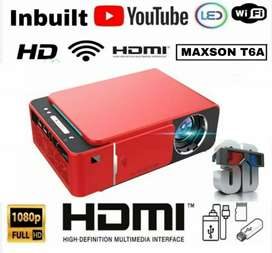 LOW PRICE UPGRADED 3D YOUTUBE WIFI MIRACAST HD PROJECTOR HOME CINEMA