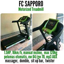 indoor green series treadmill sapporo id class
