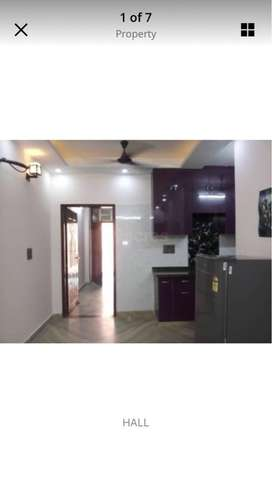 2BHK builder floor(fully furnished) for rent in Palam near Dwarka sec8