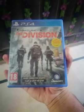 Black ops 4 and tom clancy the division for ps4
