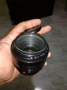Lensa dix canon 50mm