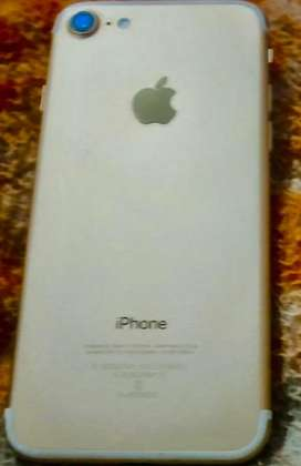 I phone 7 white golad 32gb