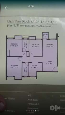 FLAT FOR RENT/SALE IN MAGNOLIA CITY BARASAT IN CHEAP RATE