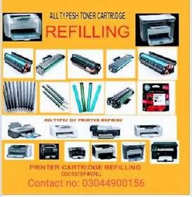 We do all kind of printers repairing and toner refilling
