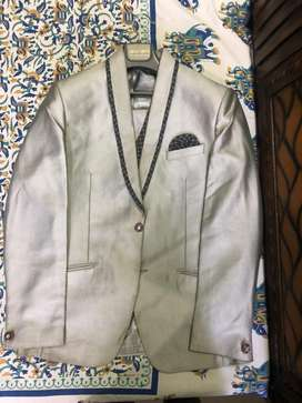 Silver touch 3 piece suit