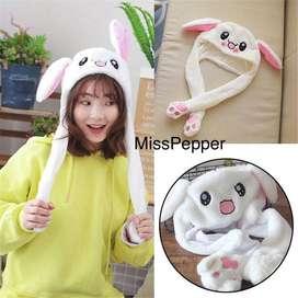 Magic Rabbit Bunny ear hat korea / topi kelinci Nayeon