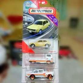 Paket Hot wheels Hotwheels VW T2, Bel Air Gasser, Matchbox Honda CVCC