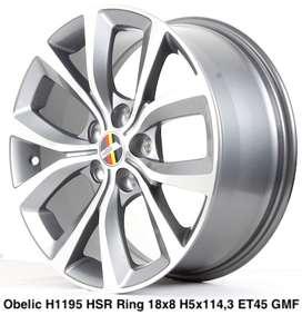OBELIC H1195 HSR R18X8 H5X114,3 ET45 GMF