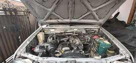 Kijang krista bensin silver metalik 2001