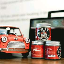 chief pomade red oilbased / pomade chief