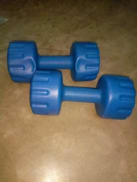3kg ×2pcs-pvc dumbbells