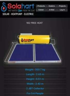 Penjualan Unit Baru Solar Water Heater Solahart Sentul Selatan