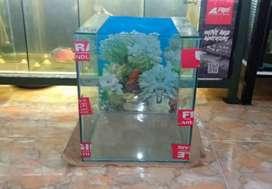 Jual Aquarium , Mesin Amara 18watt dan Heater 50watt