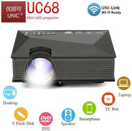 UNIC UC68 FullHD LED WiFi Projector 1800 lumi/Airplay/Miracast Etc.