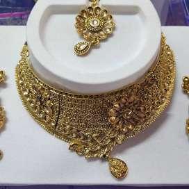 Bridal jewellery set rent or sale