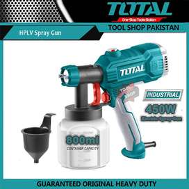 Total INDUSTRIAL Original HVLP Electric Spray Machine 450W Paintzoom