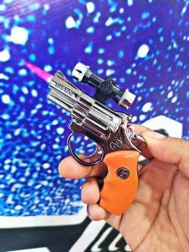 Korek api pistol mini plus Senter dan laser mini