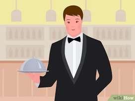 Waiter / waitress / Service staff  (Men / women )for a BBQ restaurant
