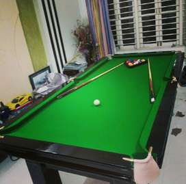 3 in1Custom made pool table with Table tennis top and dining table top
