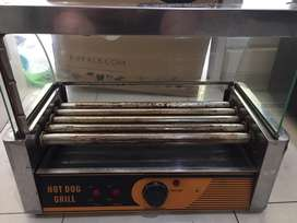 Sosis grill mesin 5 roll