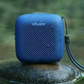 Vivan VS1 Outdor Bluetooth 5.0 Speaker Waterproof White - 1328