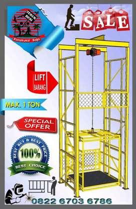 Lift  Elevator  Barang