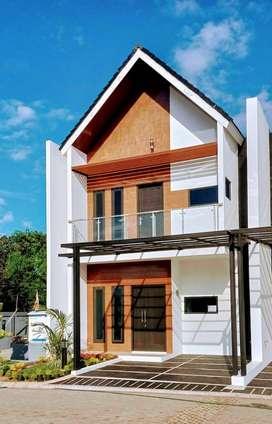 Rumah dalam cluster lengkap fasilitas di Jatiwaringin Bekasi