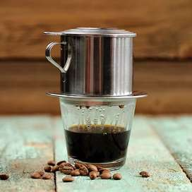 XProject Filter Saring Kopi Vietnamese Coffee Drip Pot Stainless iw1