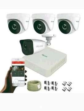 Paket lengkap plus pemasangan kamera cctv