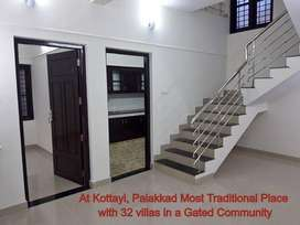 Just 20 minutes from Palakkad Medical College - 3 Bhk villas @ Kottayi